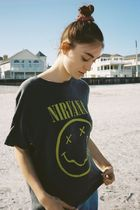 Nirvana◆Smiley Face Tシャツ◆