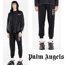 【Palm Angels × UNDER ARMOUR】人気!コラボ★ ロゴ パンツ