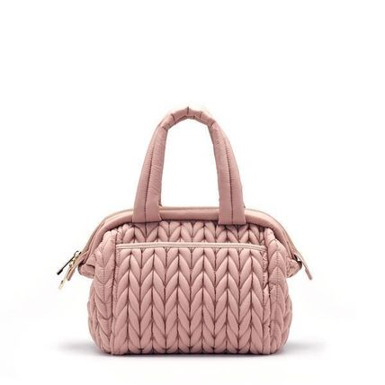 HAPP マザーズバッグ Paige Mini Dusty Rose(9)