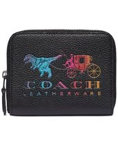 【COACH】Rexy And Carriage Small Zip Around レザーウォレット