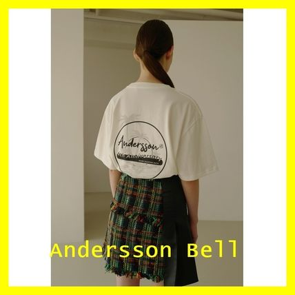 ANDERSSON BELL Tシャツ・カットソー ANDERSSON BELL★パームツリープリントTシャツ 3色★UNISEX