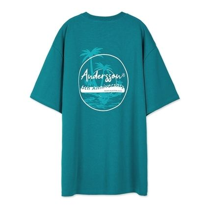 ANDERSSON BELL Tシャツ・カットソー ANDERSSON BELL★パームツリープリントTシャツ 3色★UNISEX(14)