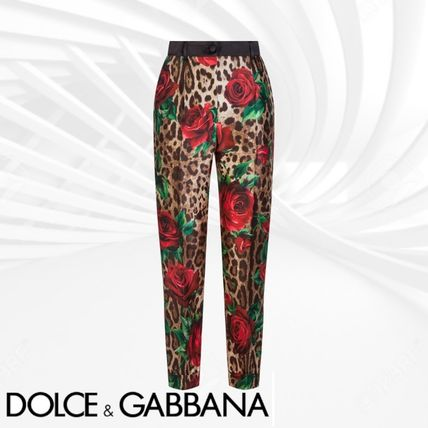 19SS《Dolce & Gabbana》TROUSERS IN PRINTED SILK