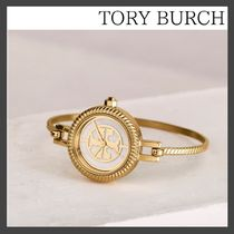 (11864)Tory Burch☆REVA BANGLE WATCH着せ替えリング付き