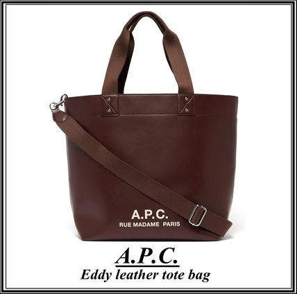 A.P.C. アーペーセー メンズトートバッグ ★国内発送・関税/送料込★
