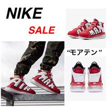 SALE★大注目のナイキエアー/モアテン 赤【NIKE】Air レッド
