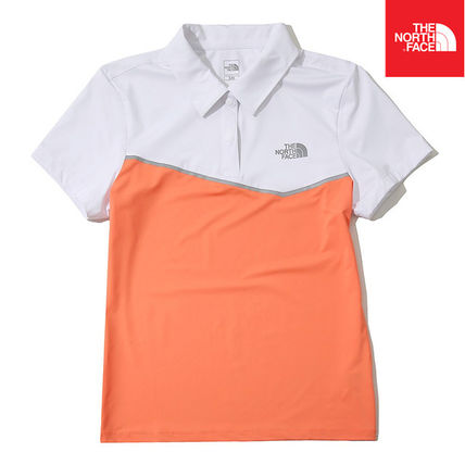 THE NORTH FACE Tシャツ・カットソー 【THE NORTH FACE】W'S STRETCH ON S/S POLO NT7PK42C