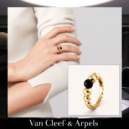 outlet store 84679 a3e6b 【Van Cleef&Arpels】ペルレ クルール ヴァリアシオン リング