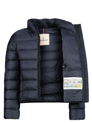 MONCLER キッズアウター ☆MONCLER☆ ガールズFinlande ネイビー♪ 4A/6A(10)