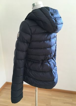 MONCLER キッズアウター ☆MONCLER☆ ガールズFinlande ネイビー♪ 4A/6A(4)
