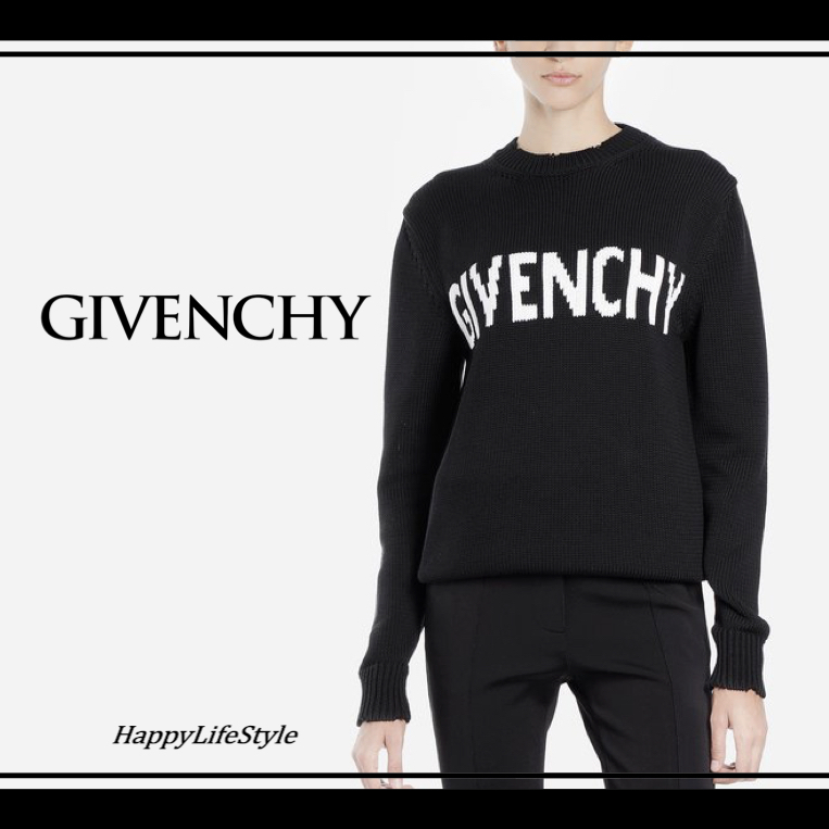 COOL!◇ロゴ Cotton Knit◇GIVENCHY (GIVENCHY/ニット・セーター) 44902323