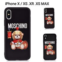 MOSCHINO iPhone X/XS.XR.XS MAX ケース グラディエーターテディ