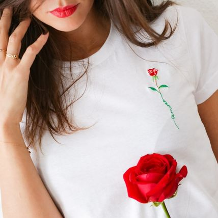 FAUBOURG54 Tシャツ・カットソー 日本未入荷☆FAUBOURG54★T-shirt Rose Amour バラTシャツ(2)