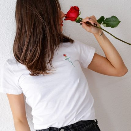 FAUBOURG54 Tシャツ・カットソー 日本未入荷☆FAUBOURG54★T-shirt Rose Amour バラTシャツ(3)