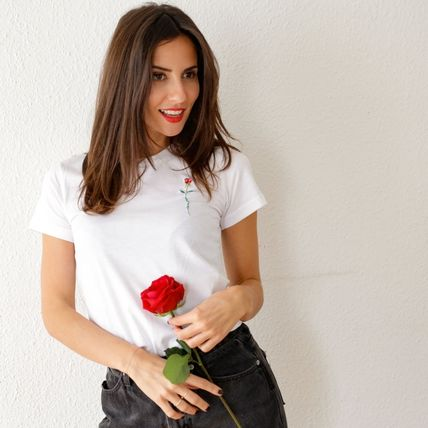 FAUBOURG54 Tシャツ・カットソー 日本未入荷☆FAUBOURG54★T-shirt Rose Amour バラTシャツ(5)