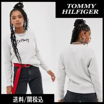 【Tommy Hilfiger】Jeans essential フロント ロゴ スウェット♪