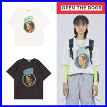 [OPEN THE DOOR]  BOWIE ON STAGE 1/2 T (2 色) -UNISEX/追跡付