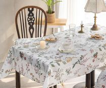 【DECO VIEW】 Flan Flower Waterproof Tablecloth