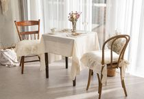 【DECO VIEW】 Natural Beige Wash Tablecloth