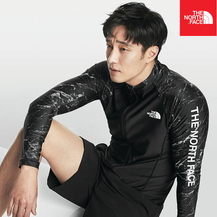THE NORTH FACE ラッシュガード 【THE NORTH FACE】M'S PROTECT RASHGUARD ZIP UP NJ5JK03A