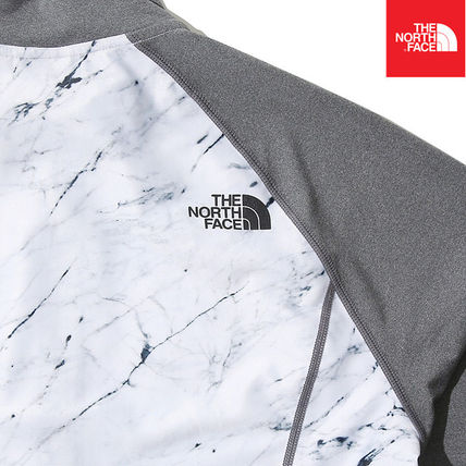 THE NORTH FACE ラッシュガード 【THE NORTH FACE】M'S PROTECT RASHGUARD ZIP UP NJ5JK03B(6)