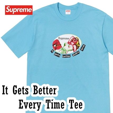 dc2900d04d3d Supreme Tシャツ・カットソー Supreme It Gets Better Every Time Tee SS 19 WEEK 18 ...