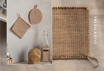 【DECO VIEW】 Natural Rattan Pot Stand (2type)