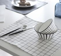 【DECO VIEW】 Modern check waterproof table mat (2type)