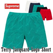 Supreme Terry Jacquard Logo Short SS 19 WEEK 18