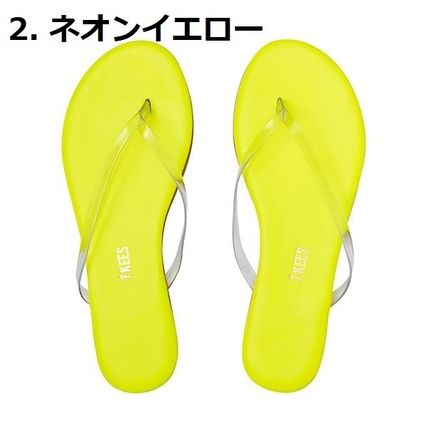 TKEES シューズ・サンダルその他 ネオン&クリアー!Lily Neon Clears☆TKEES(4)