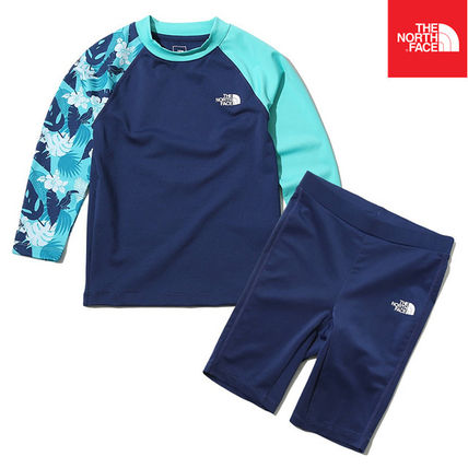 THE NORTH FACE ウィンタースポーツその他 【THE NORTH FACE】K'S NEW WAVE RASHGUARD SET NT7TK20S