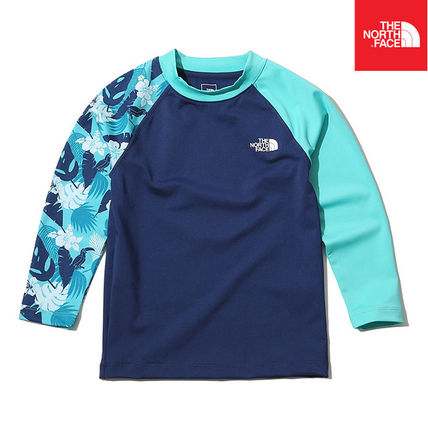 THE NORTH FACE ウィンタースポーツその他 【THE NORTH FACE】K'S NEW WAVE RASHGUARD SET NT7TK20S(2)