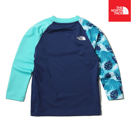 THE NORTH FACE ウィンタースポーツその他 【THE NORTH FACE】K'S NEW WAVE RASHGUARD SET NT7TK20S(3)