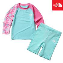 【THE NORTH FACE】K'S NEW WAVE RASHGUARD SET NT7TK20T