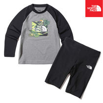 【THE NORTH FACE】K'S PROTECT RASHGUARD SET NT7TK21S