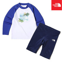【THE NORTH FACE】K'S PROTECT RASHGUARD SET NT7TK21T