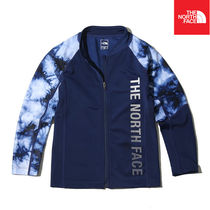 【THE NORTH FACE】K'S NEW WAVE RASHGUARD ZIP UP NJ5JK07S