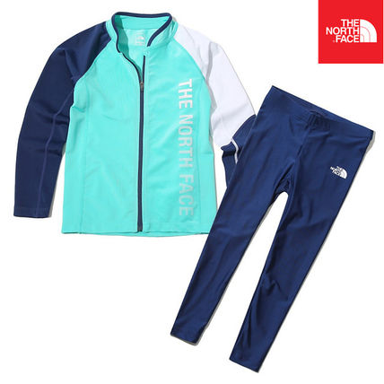 THE NORTH FACE ウィンタースポーツその他 【THE NORTH FACE】K'S PROTECT RASHGUARD SET NJ5JK06U