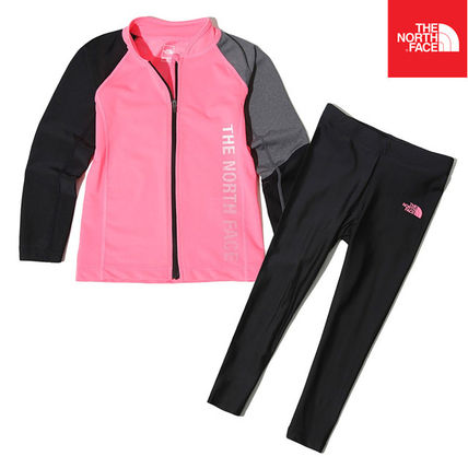 THE NORTH FACE ウィンタースポーツその他 【THE NORTH FACE】K'S PROTECT RASHGUARD SET NJ5JK06T(2)