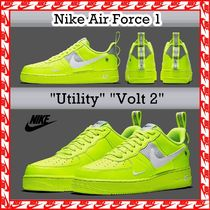 Nike Air Force 1 Utility Volt 2 FW 18 エアフォース1