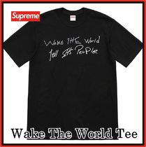 Supreme Buju Banton Wake The World Tee SS 19 WEEK 18