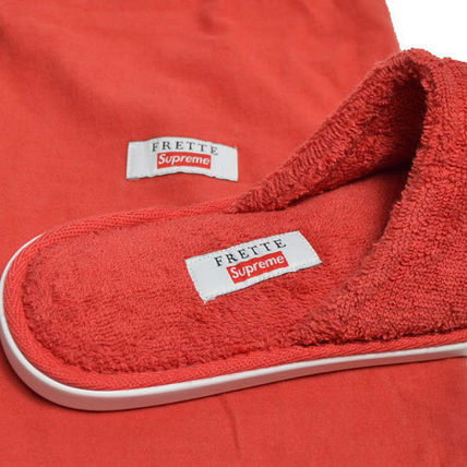 Supreme ライフスタイルその他 【Supreme】Supreme/Frette Slippers RED【即発送】(6)