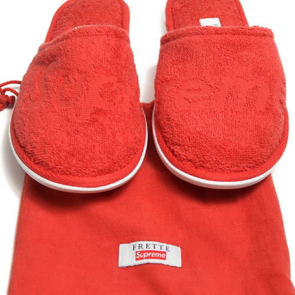 Supreme ライフスタイルその他 【Supreme】Supreme/Frette Slippers RED【即発送】(7)