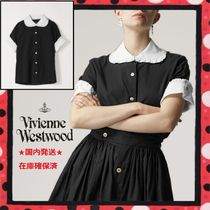 19SS人気★国内発送 Vivienne Westwood 白×黒 メイドブラウス