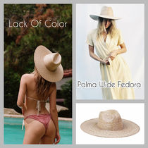 lack of color(ラックオブカラー) ストローハット ■Lack of color■ パームリーフハット■ Palma Wide Fedora
