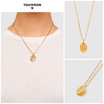 【TOM WOOD】☆新作☆Feather Locket 30 inches Gold