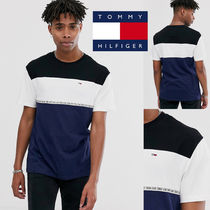 SALE【Tommy Jeans】半袖 カラーブロック Tシャツ / 送料無料
