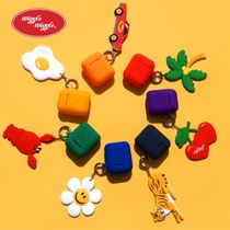 WIGGLE WIGGLE★Airpods Case & Keyring SET