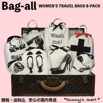 【Bag-all】NY発♡トラベル 旅行 バッグ セット  8-PACK
