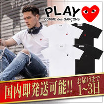 COMME des GARCONS(コムデギャルソン) Tシャツ・カットソー 1-3日着/追跡【即発】COMME des GARCONS リトル ハートロゴ TEE